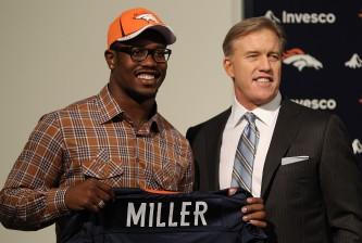 Denver Broncos Introduce First Round Draft Pick Von Miller