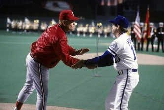 World Series: St. Louis Cardinals v Kansas City Royals, October, 1985