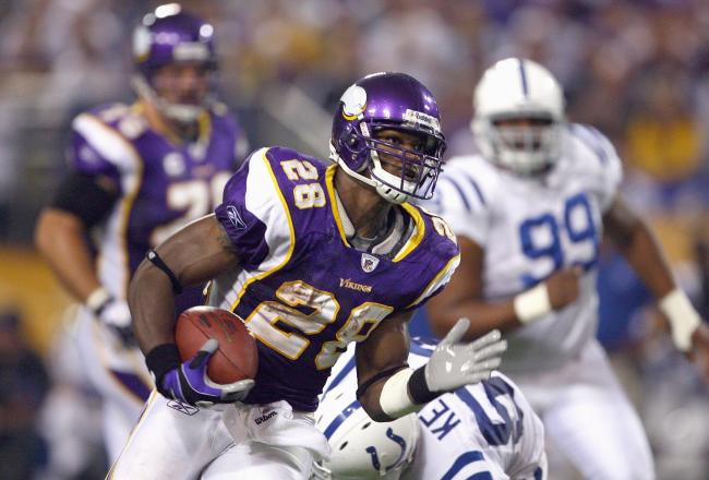 Adrian Peterson vs Colts