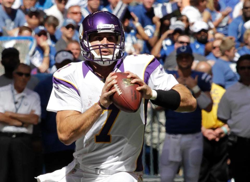 Christian Ponder Colts 2012