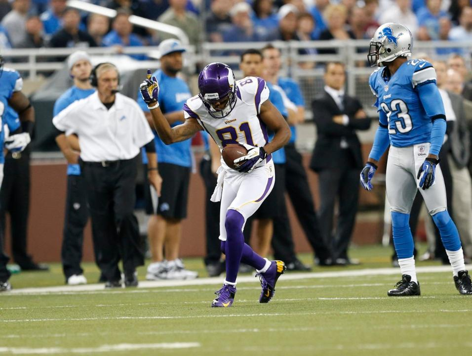 Jerome Simpson Vikings