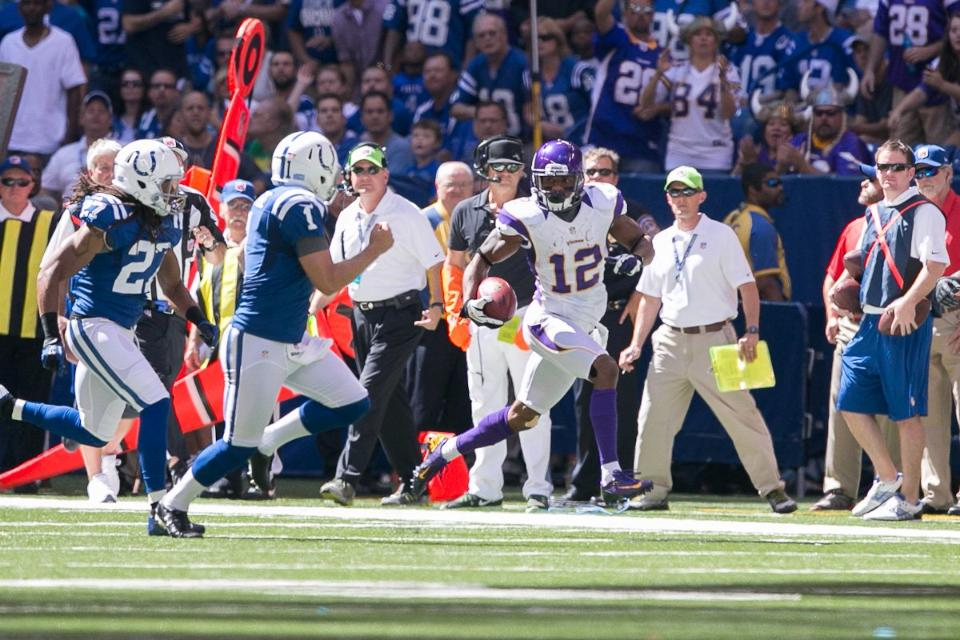 Percy Harvin Colts 2012