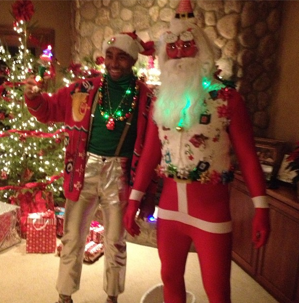 Jared Allen Santa Pants