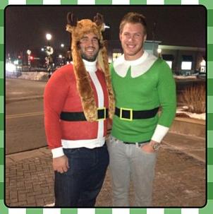 John Sullivan Kyle Rudolph Christmas Outfits