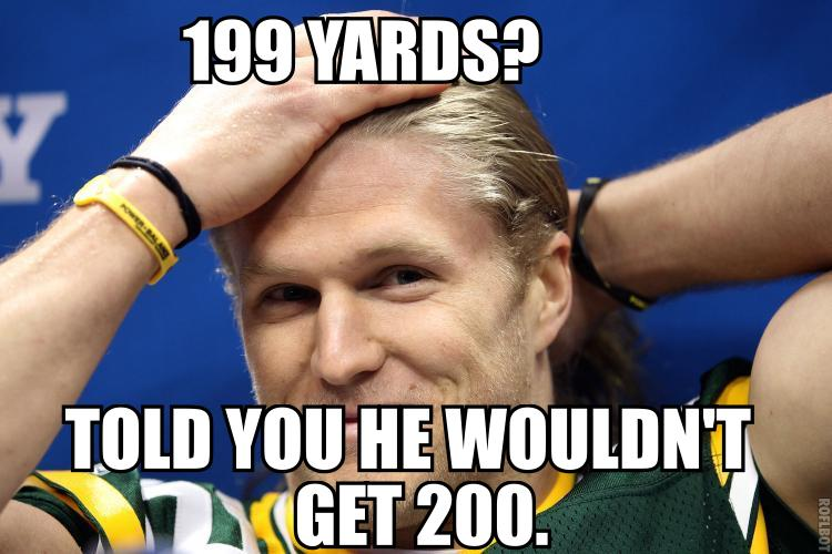 Clay Matthews Sucks