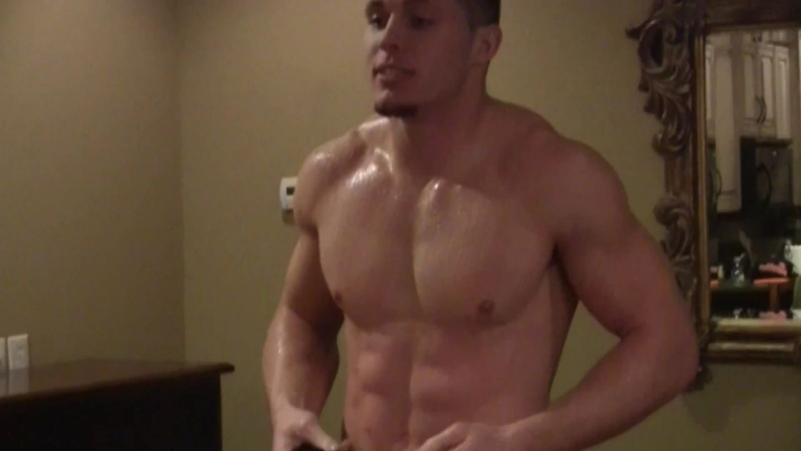 Harrison Smith Shirtless