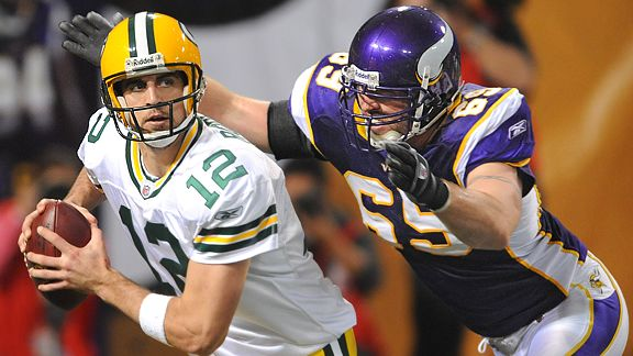 Jared Allen Sacks Rodgers