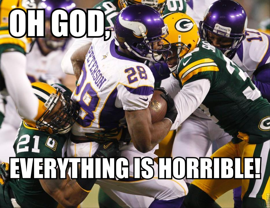 Adrian Peterson Packers Playoffs