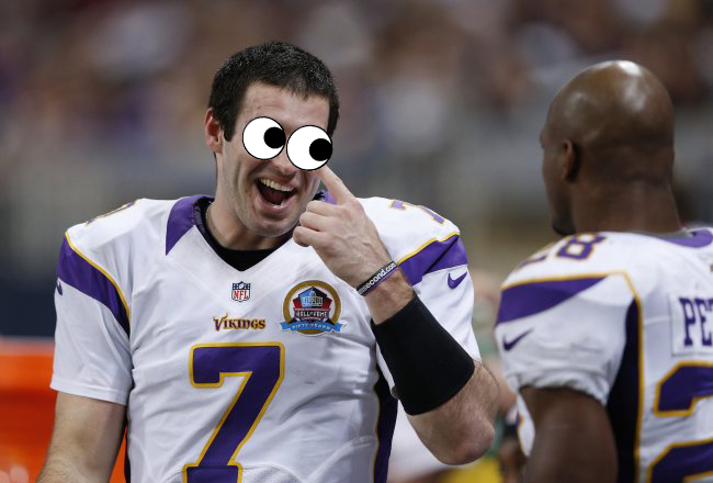 Christian Ponder Googly Eyes