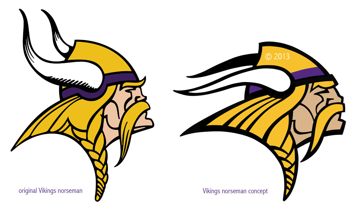 Proposed Vikings Logo