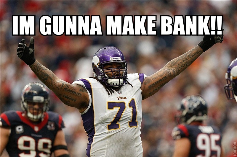 Phil Loadholt in free agency