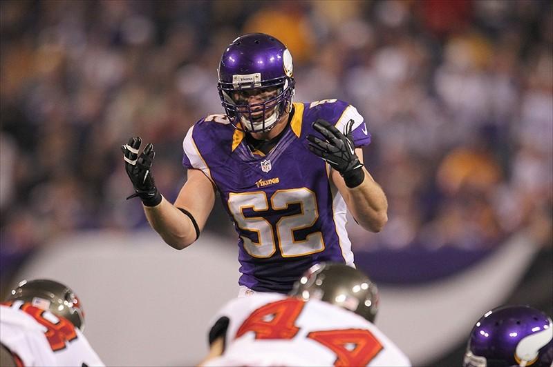 Chad Greenway Vikings