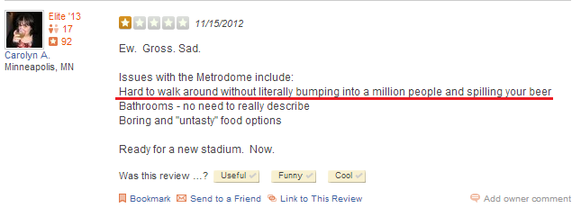 Metrodome Review 001