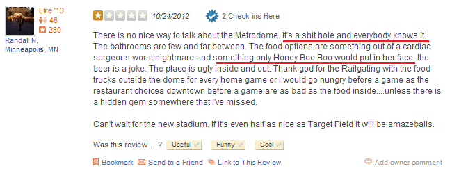Metrodome review 002