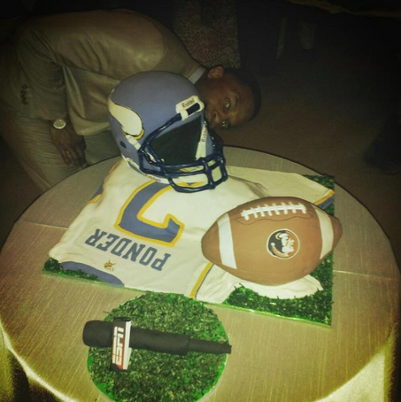 Christian Ponder Wedding Cake