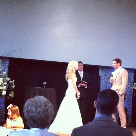 Christian Ponder Samantha Steele Wedding