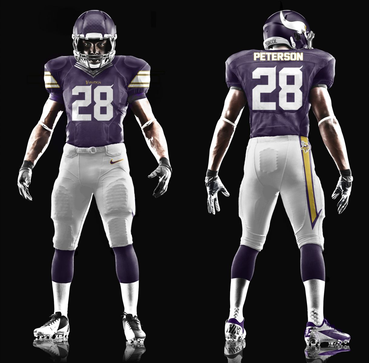 New Vikings uniform design