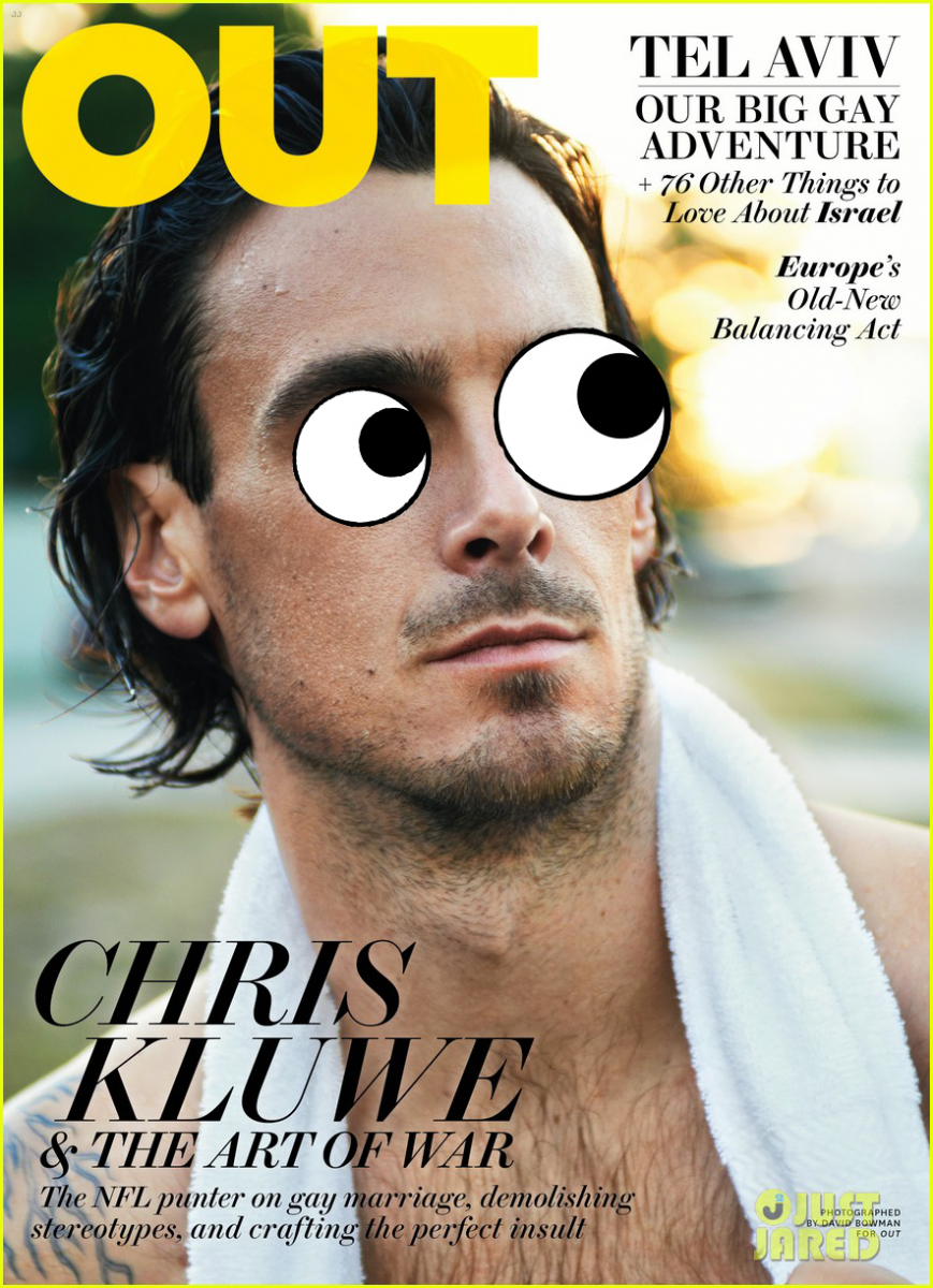 Chris Kluwe Googly Eyes