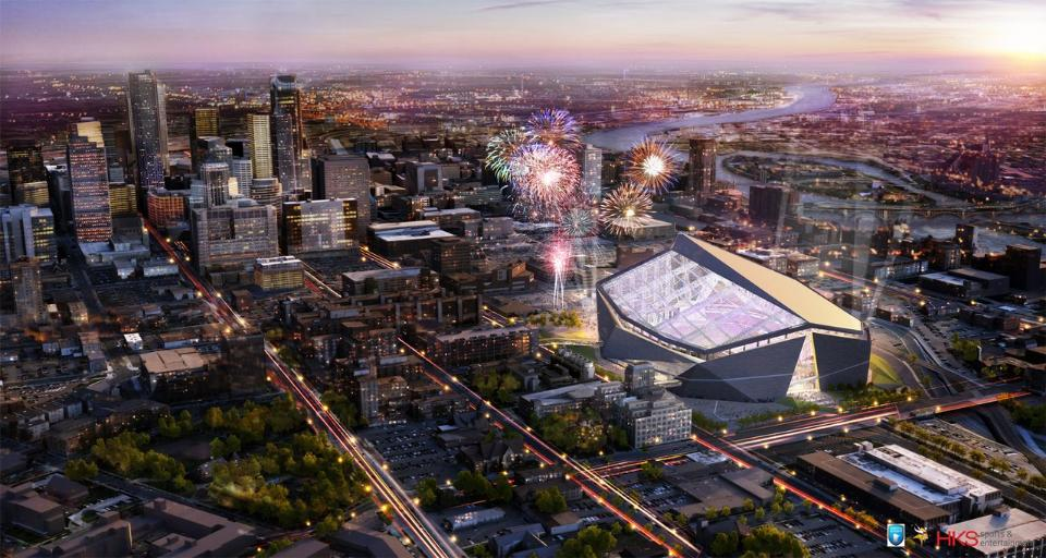 New Vikings Stadium