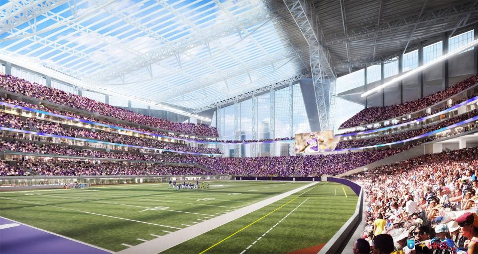 New NFL Vikings stadium