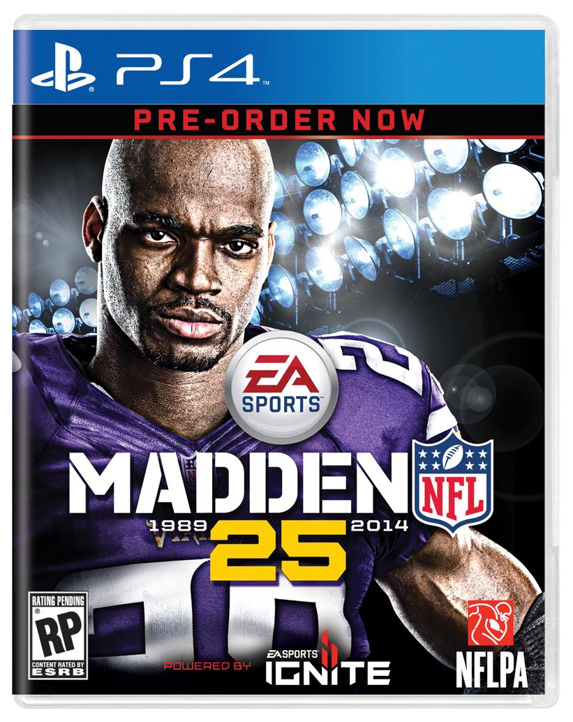 Adrian Peterson Madden 25 Cover