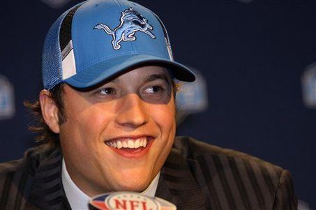 Matthew Stafford Draft Day