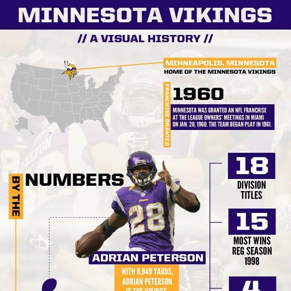 Minnesota Vikings Visual History