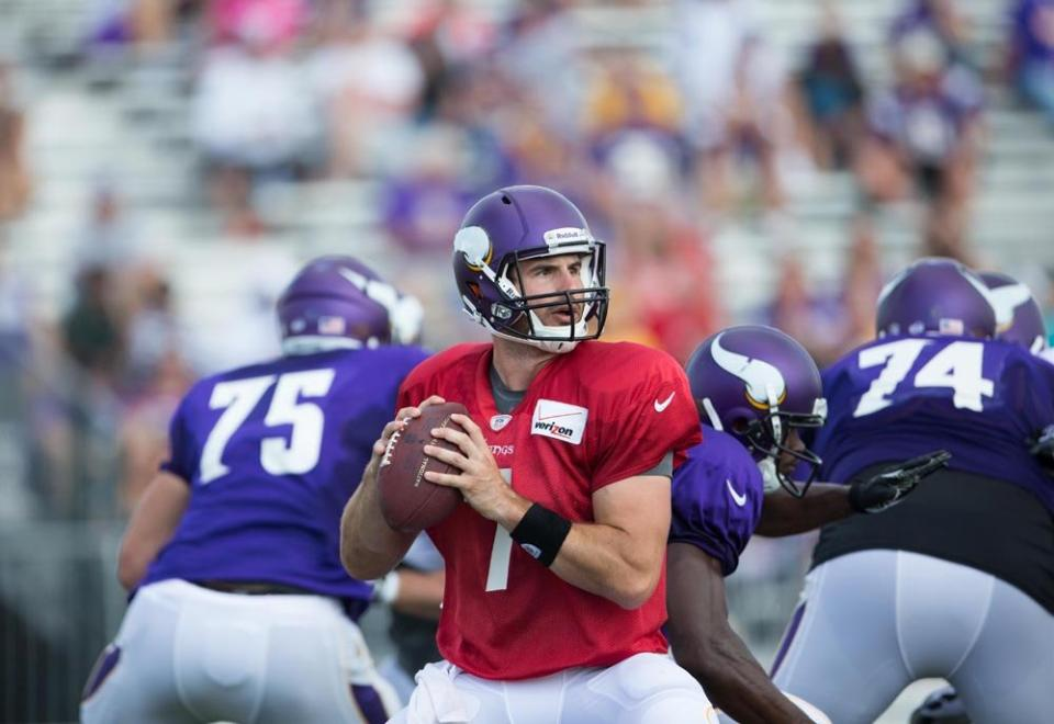 Chrstian Ponder Vikings Camp