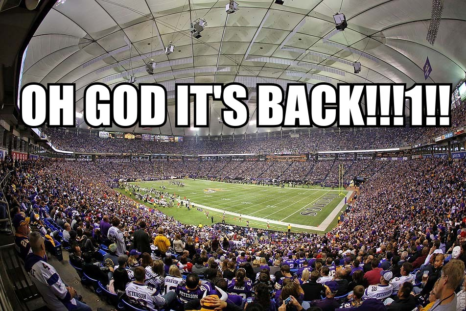 Vikings football is back