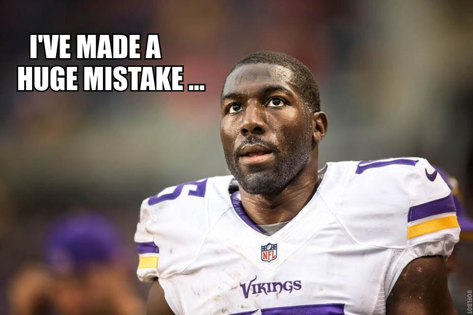 Greg Jennings made a huge mistake