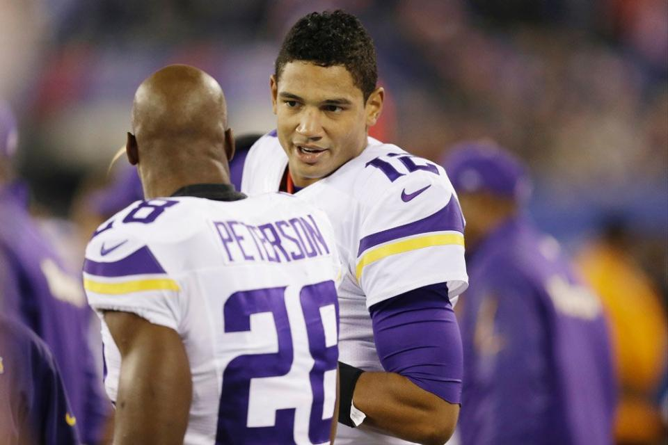 Josh Freeman Adrian Peterson
