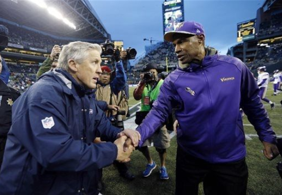 Leslie Frazier Seattle 2013