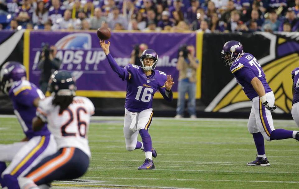 Matt Cassel Vikings Bears