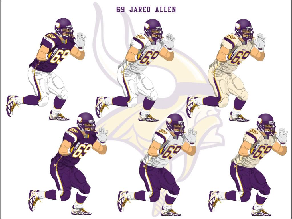 Vikings new uniform design