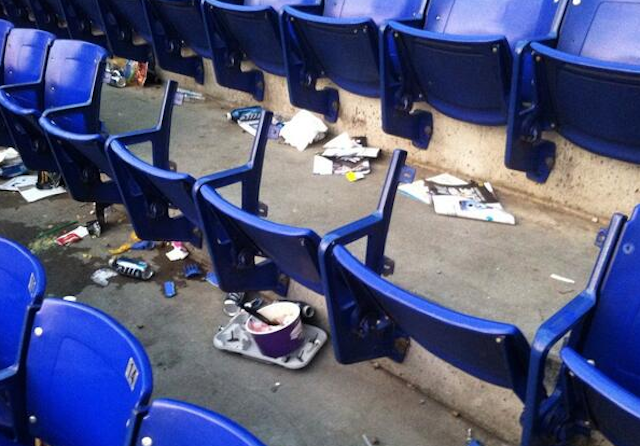 Stolen Metrodome Chairs