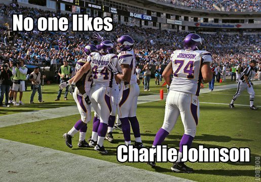 No one likes Charlie Johnson