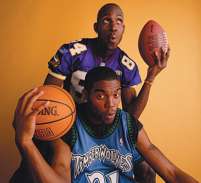 KG and Randy Moss