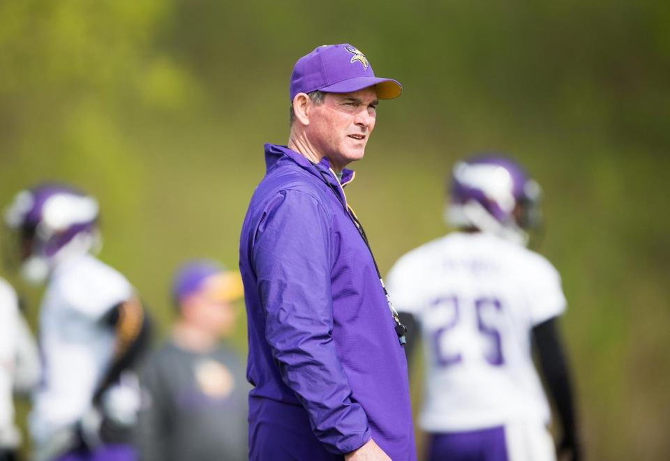 mike zimmer training camp