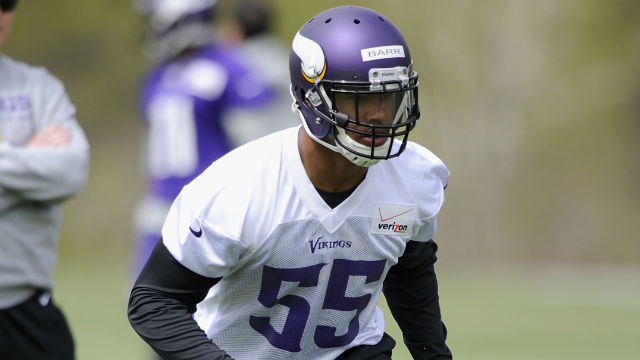 anthony barr vikings camp 2014