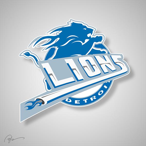 lions pistons logo