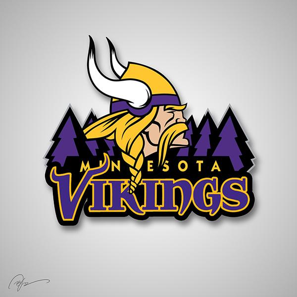 minnesota vikings timberwolves logo