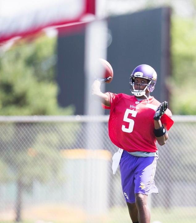 teddy bridgewater camp 2014
