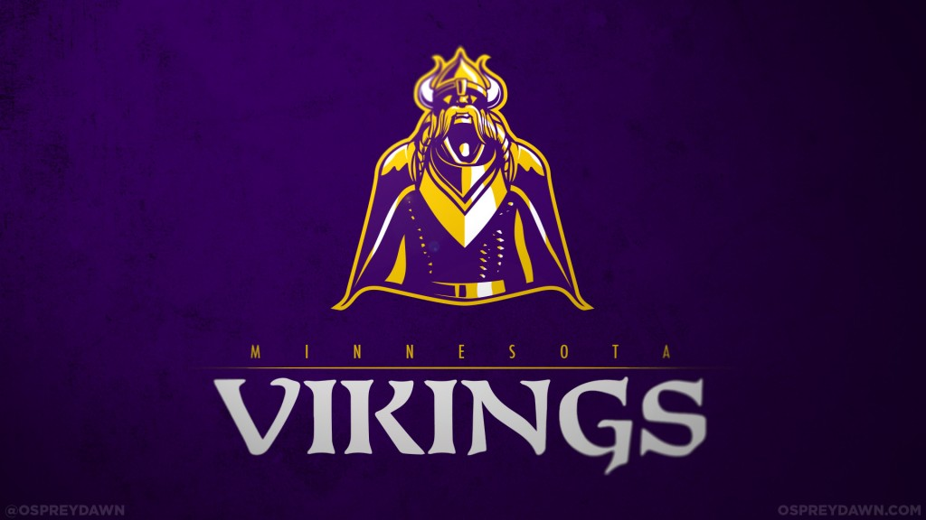 vikings logo redesign 2014