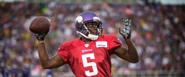 teddy bridgewater training camp 2014