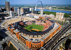 The new Busch Stadium, designed by Populous