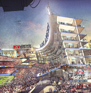 LA stadium plans... on hold for now.