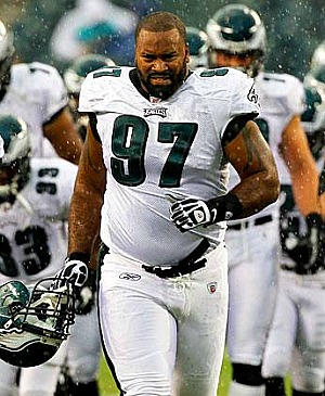 New Eagles DT Cullen Jenkins wants no part of the 'Dream Team' label.
