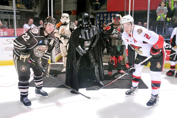 Star Wars Night in Binghamton, NY last Saturday.