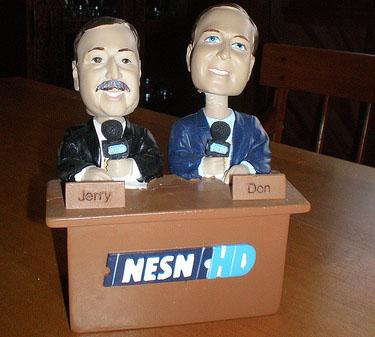 Jerry Remy and Don Orsillo NESN Bobbledesk