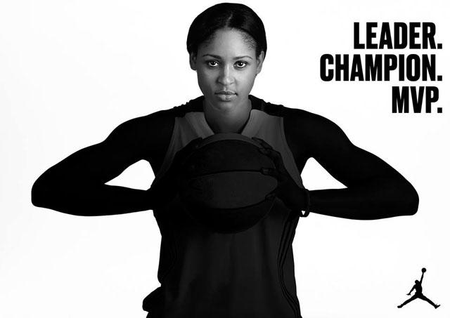 2014 WNBA MVP Maya Moore
